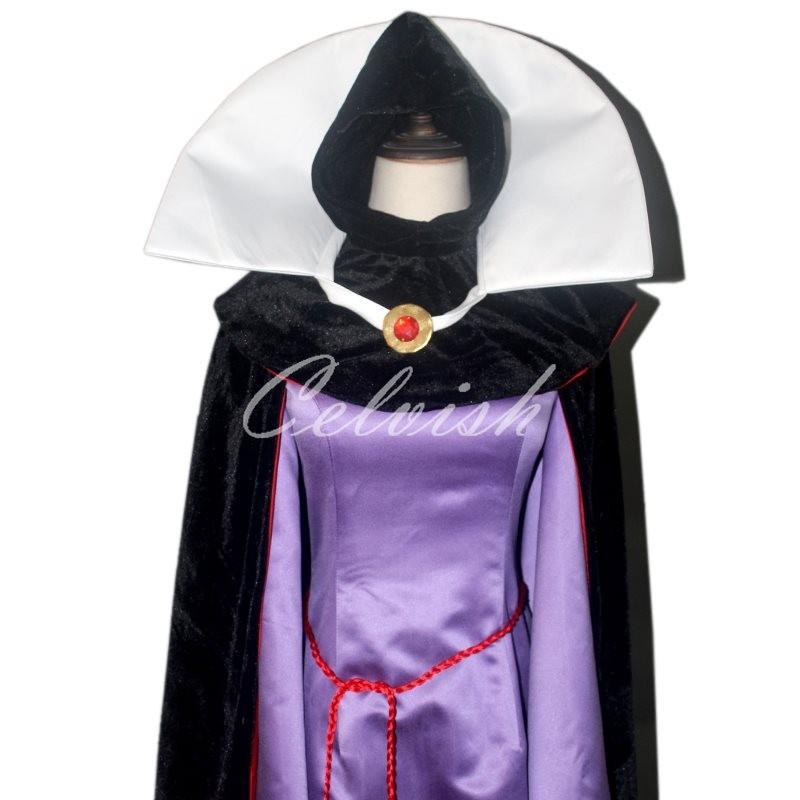 スノーホワイト 女王ラヴェンナ 風 ドレス ディズニー クリスマス コスプレ ドレス プリンセスドレス コスプレ衣装 パーティー cl-2923D018