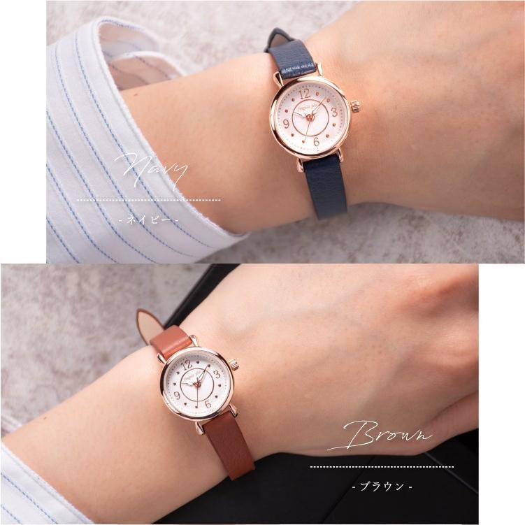 腕時計 レディース 抗菌ベルト 小ぶり シンプル きれい おしゃれ 仕事 レトロ プレゼント ギフト 1年間のメーカー保証付き メール便送料無料|kiitos-web|11
