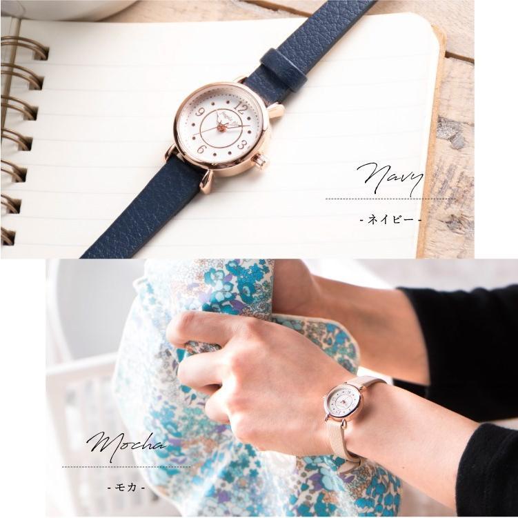 腕時計 レディース 抗菌ベルト 小ぶり シンプル きれい おしゃれ 仕事 レトロ プレゼント ギフト 1年間のメーカー保証付き メール便送料無料|kiitos-web|13