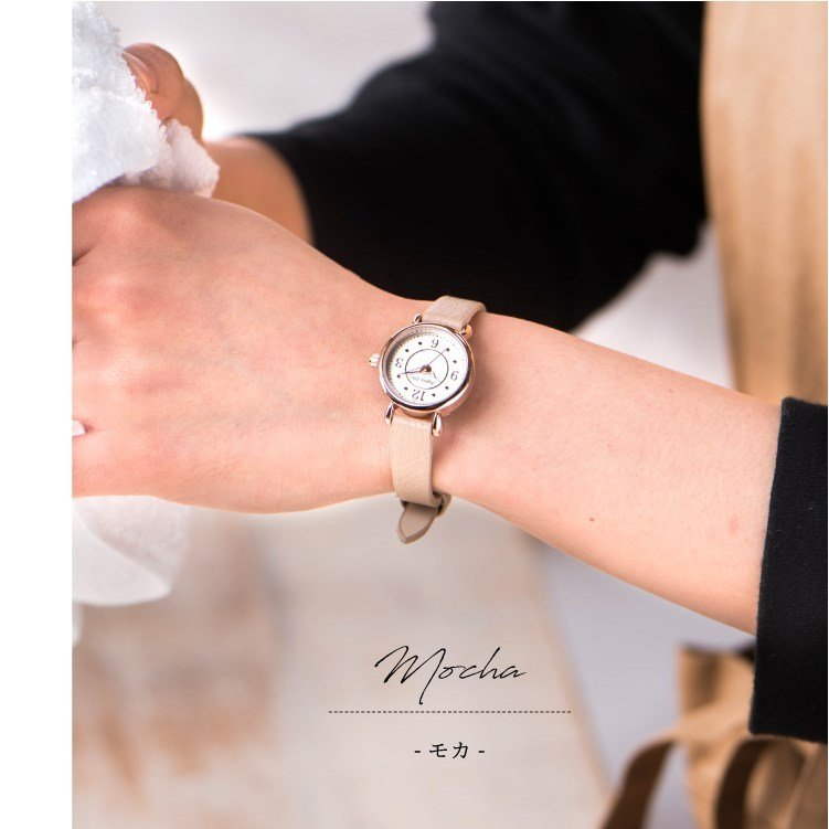 腕時計 レディース 抗菌ベルト 小ぶり シンプル きれい おしゃれ 仕事 レトロ プレゼント ギフト 1年間のメーカー保証付き メール便送料無料|kiitos-web|14
