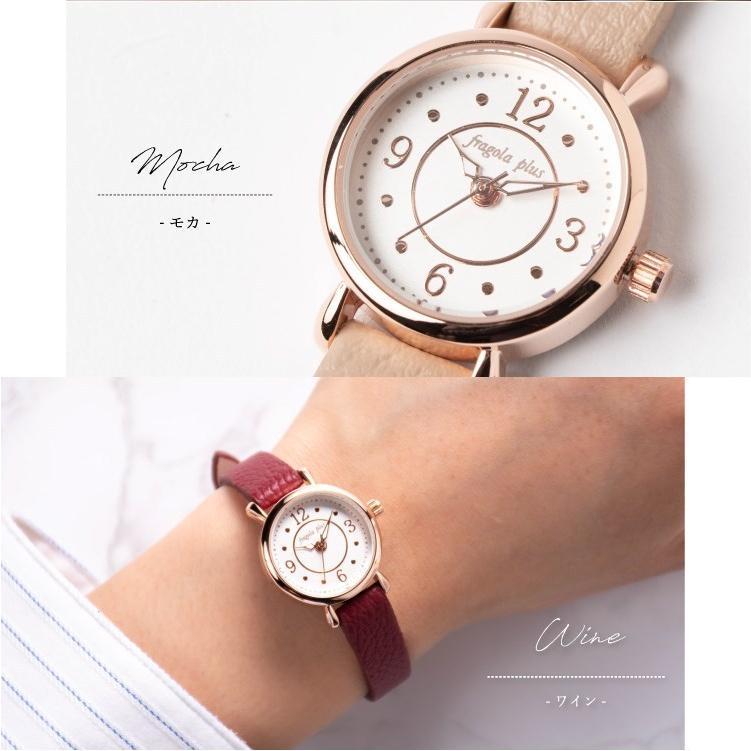 腕時計 レディース 抗菌ベルト 小ぶり シンプル きれい おしゃれ 仕事 レトロ プレゼント ギフト 1年間のメーカー保証付き メール便送料無料|kiitos-web|15