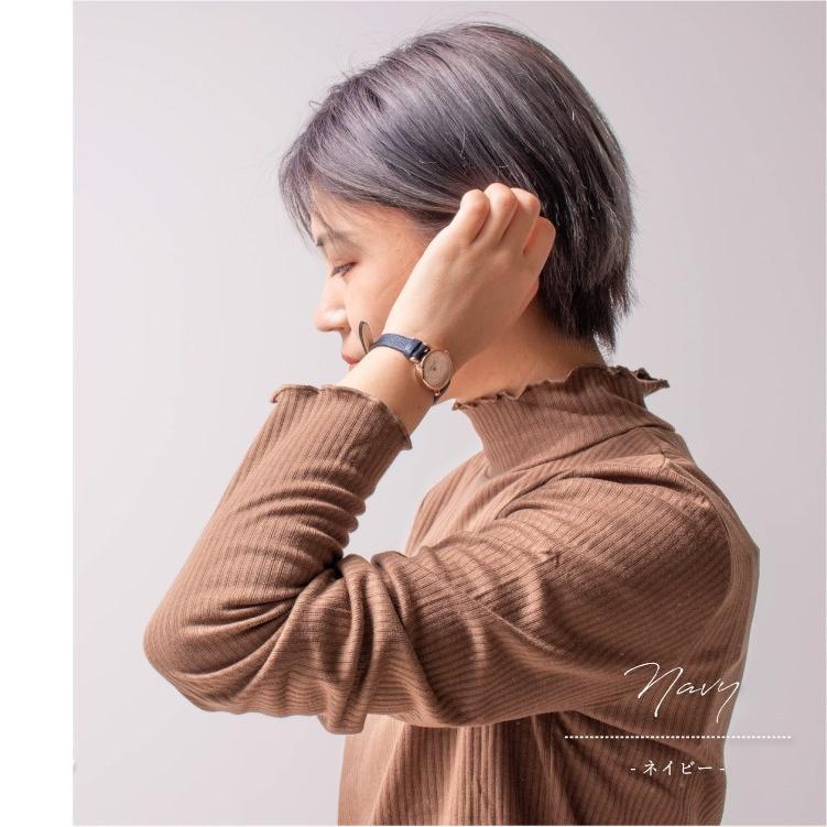 腕時計 レディース 抗菌ベルト 小ぶり シンプル きれい おしゃれ 仕事 レトロ プレゼント ギフト 1年間のメーカー保証付き メール便送料無料|kiitos-web|10