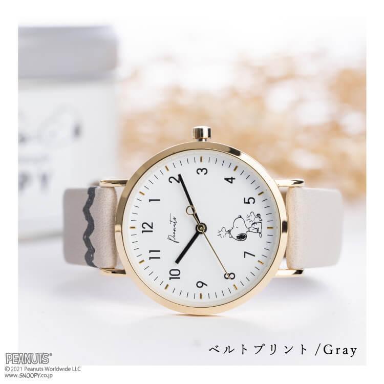 腕時計 レディース スヌーピー SNOOPY 缶入り かわいい おしゃれ 合皮ベルト シンプル カジュアル ブランド ギフト プレゼント|kiitos-web|12