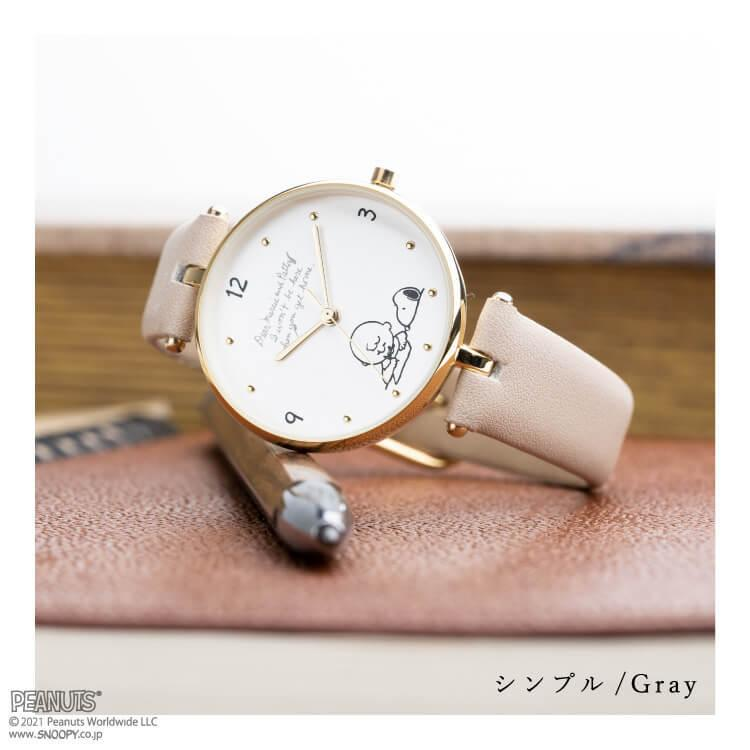 腕時計 レディース スヌーピー SNOOPY 缶入り かわいい おしゃれ 合皮ベルト シンプル カジュアル ブランド ギフト プレゼント|kiitos-web|09