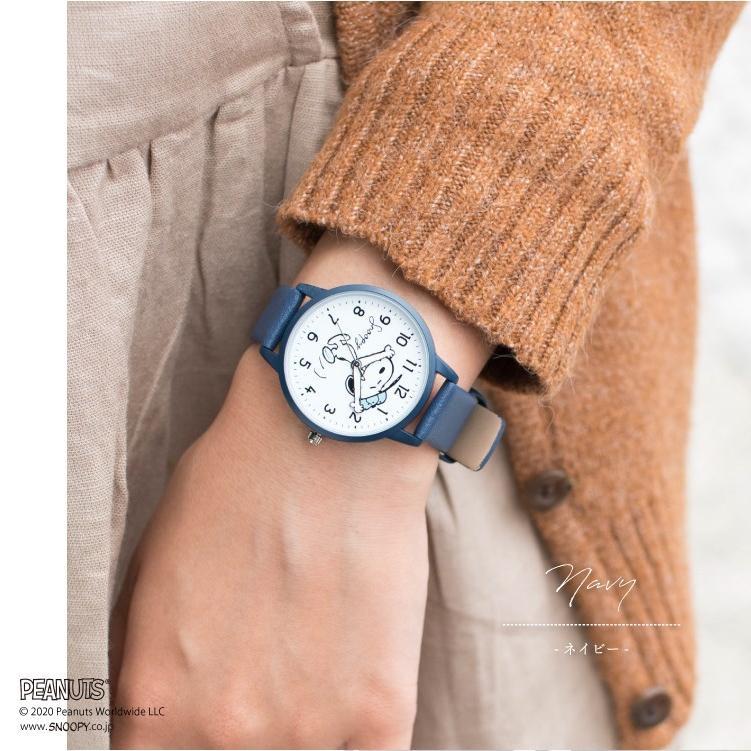 スヌーピー 腕時計 ウォッチ レディース PEANUTS SNOOPY ポーチ付き 手が動く 可愛い ギフト プレゼント 1年間の保証書付き メール便送料無料 kiitos-web 15