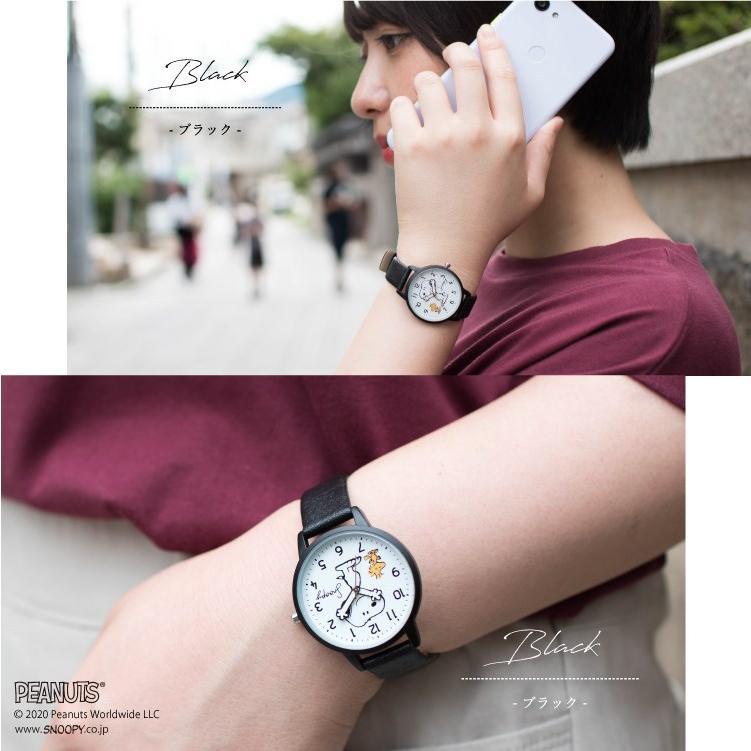 スヌーピー 腕時計 ウォッチ レディース PEANUTS SNOOPY ポーチ付き 手が動く 可愛い ギフト プレゼント 1年間の保証書付き メール便送料無料 kiitos-web 16