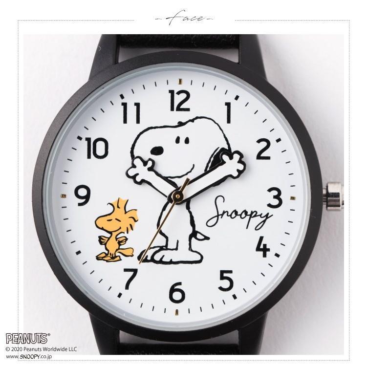 スヌーピー 腕時計 ウォッチ レディース PEANUTS SNOOPY ポーチ付き 手が動く 可愛い ギフト プレゼント 1年間の保証書付き メール便送料無料 kiitos-web 18