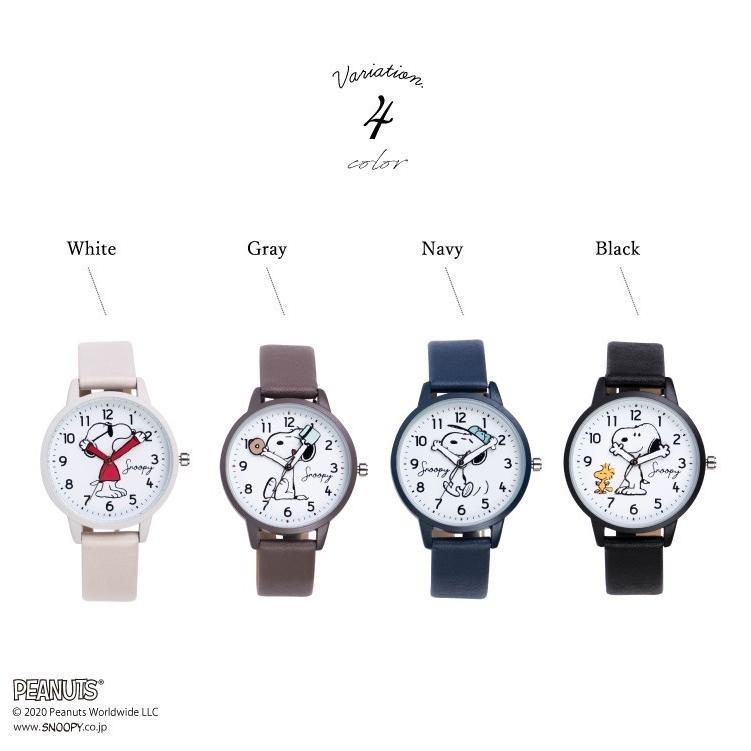 スヌーピー 腕時計 ウォッチ レディース PEANUTS SNOOPY ポーチ付き 手が動く 可愛い ギフト プレゼント 1年間の保証書付き メール便送料無料 kiitos-web 10