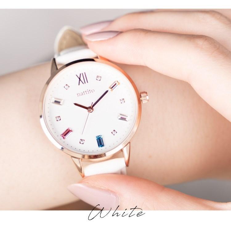 腕時計 レディース スワロフスキー 大人 おしゃれ かわいい ブランド シンプル ビジュー ギフト プレゼント メール便送料無料|kiitos-web|11