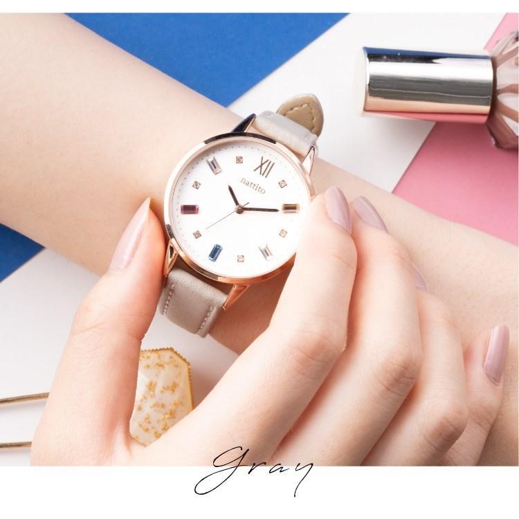 腕時計 レディース スワロフスキー 大人 おしゃれ かわいい ブランド シンプル ビジュー ギフト プレゼント メール便送料無料|kiitos-web|13