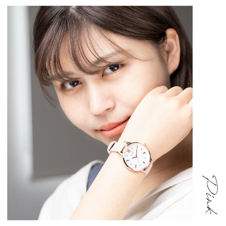 腕時計 レディース スワロフスキー 大人 おしゃれ かわいい ブランド シンプル ビジュー ギフト プレゼント メール便送料無料|kiitos-web|15