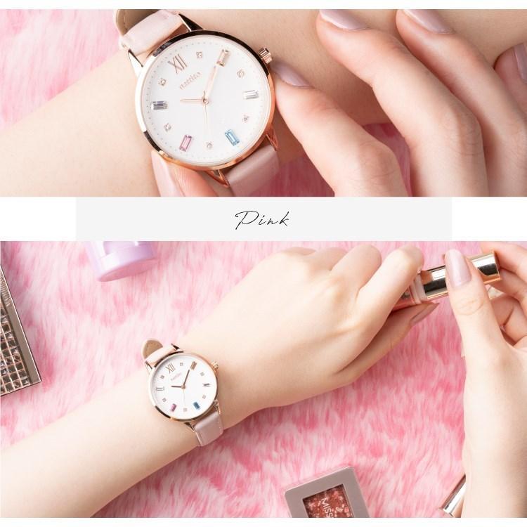 腕時計 レディース スワロフスキー 大人 おしゃれ かわいい ブランド シンプル ビジュー ギフト プレゼント メール便送料無料|kiitos-web|16