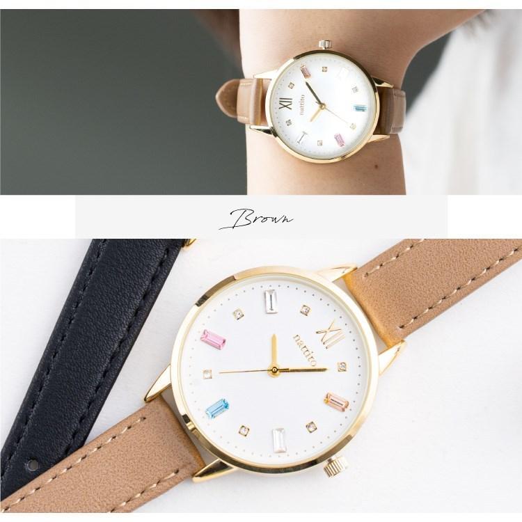腕時計 レディース スワロフスキー 大人 おしゃれ かわいい ブランド シンプル ビジュー ギフト プレゼント メール便送料無料|kiitos-web|18