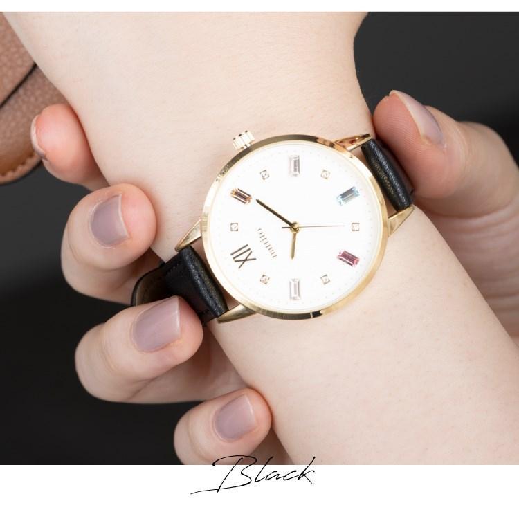 腕時計 レディース スワロフスキー 大人 おしゃれ かわいい ブランド シンプル ビジュー ギフト プレゼント メール便送料無料|kiitos-web|19