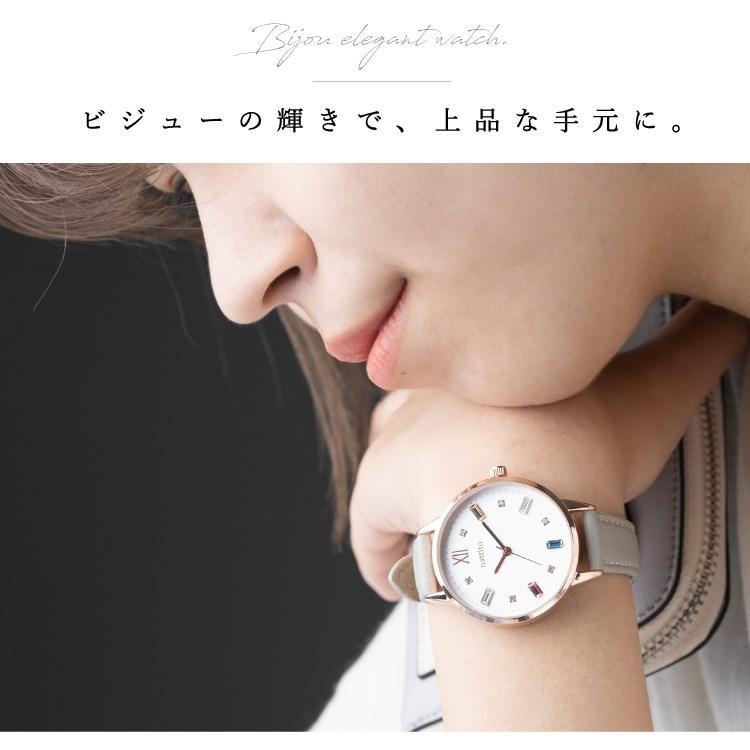 腕時計 レディース スワロフスキー 大人 おしゃれ かわいい ブランド シンプル ビジュー ギフト プレゼント メール便送料無料|kiitos-web|09