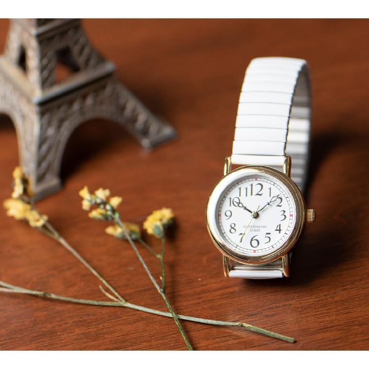 腕時計 レディース 10気圧防水 じゃばら 大人 かわいい おしゃれ ギフト プレゼント 1年間のメーカー保証付 メール便送料無料 kiitos-web 18