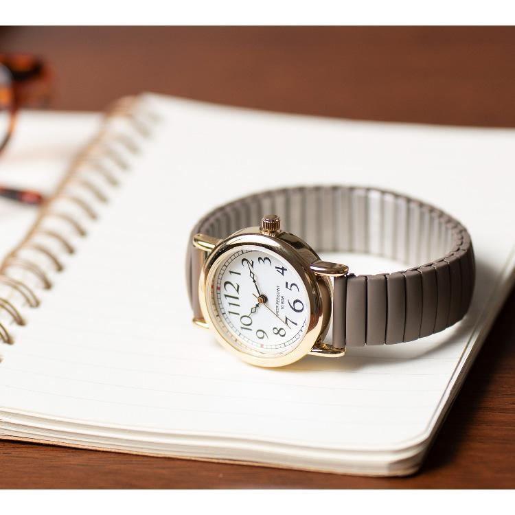 腕時計 レディース 10気圧防水 じゃばら 大人 かわいい おしゃれ ギフト プレゼント 1年間のメーカー保証付 メール便送料無料 kiitos-web 19