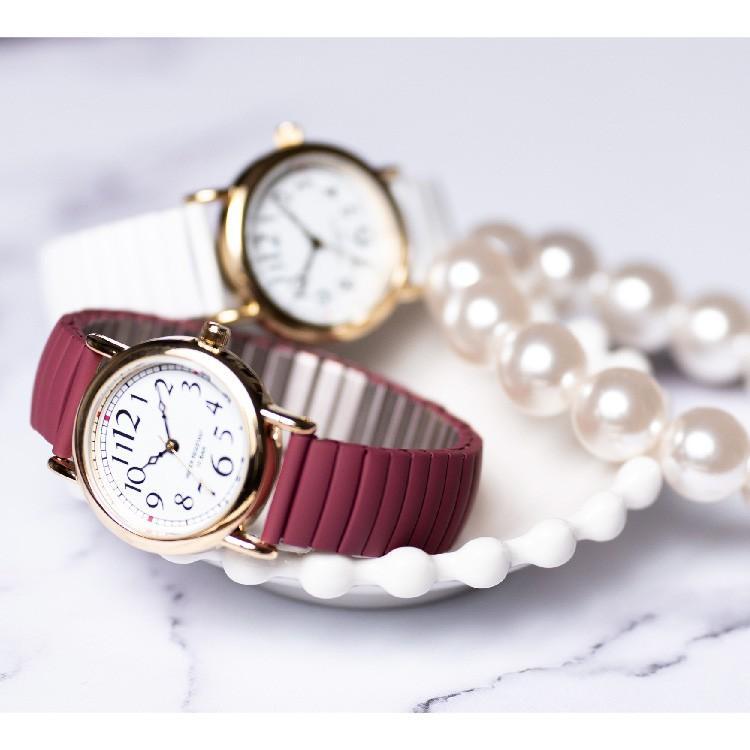 腕時計 レディース 10気圧防水 じゃばら 大人 かわいい おしゃれ ギフト プレゼント 1年間のメーカー保証付 メール便送料無料 kiitos-web 20