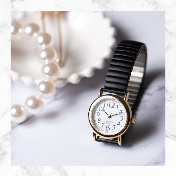 腕時計 レディース 10気圧防水 じゃばら 大人 かわいい おしゃれ ギフト プレゼント 1年間のメーカー保証付 メール便送料無料 kiitos-web 04