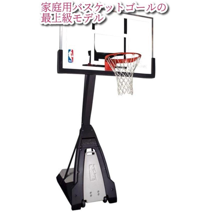 SPALDINGスポルディング THE BEAST (ザ·ビースト)強化ガラスバスケットボールゴール