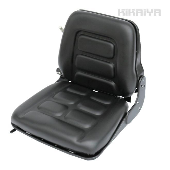フォークリフトシート 汎用多目的交換用シート オペレーターシート リクライニング機能付 リクライニング機能付 リクライニング機能付 交換用座席 重機用座席 KIKAIYA 9f3