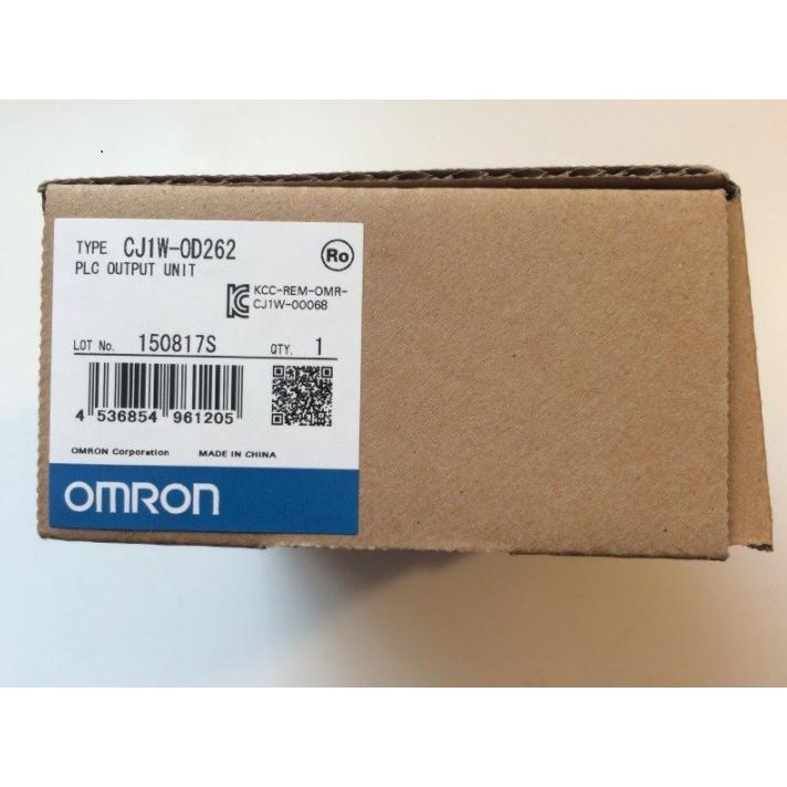 オムロン プログラマブルコントローラ CJ1W-OD262 未使用品