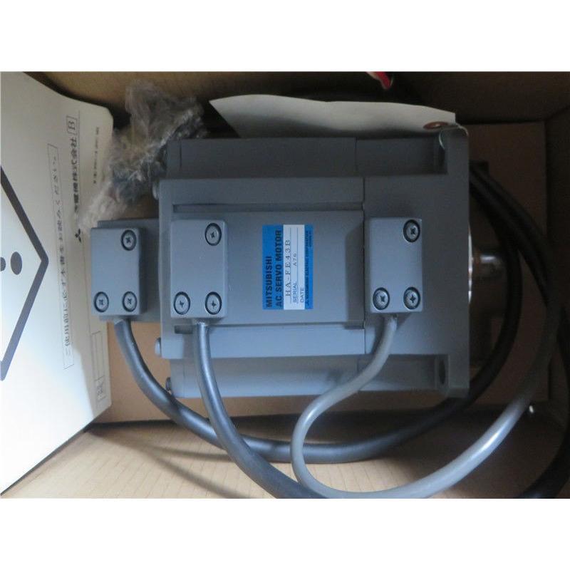 三菱電機 サーボモータ HA-FE43B 未使用品