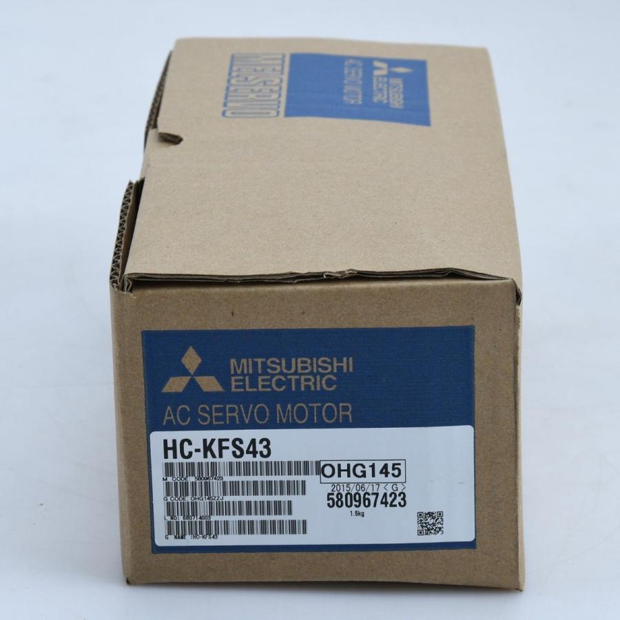 三菱電機 サーボモータ HA-KFS43 未使用品