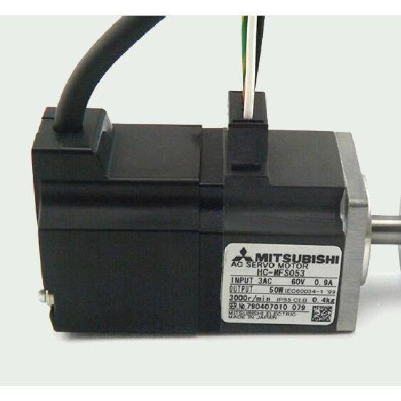 三菱電機 サーボモータ HC-MFS053 未使用品