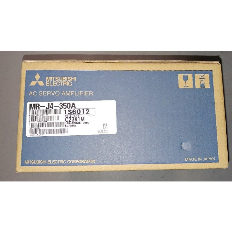 三菱電機 サーボアンプ MR-J4-350A 新品同様/整備済品