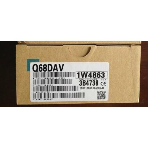 三菱電機 シーケンサ Q68DAV 未使用品