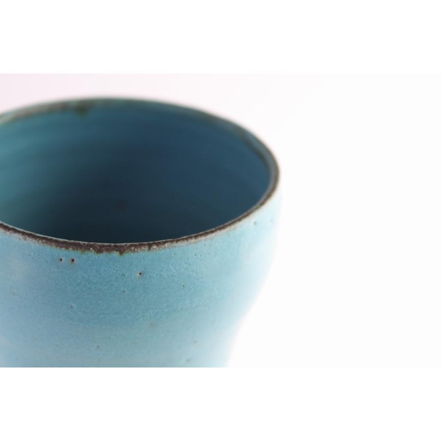 ビールグラス 陶器 誕生日 母の日 父の日 敬老の日 ターコイズブルーグラス プレゼント クリスマス ホワイトデー 還暦 お祝い|kiki-kiki|05