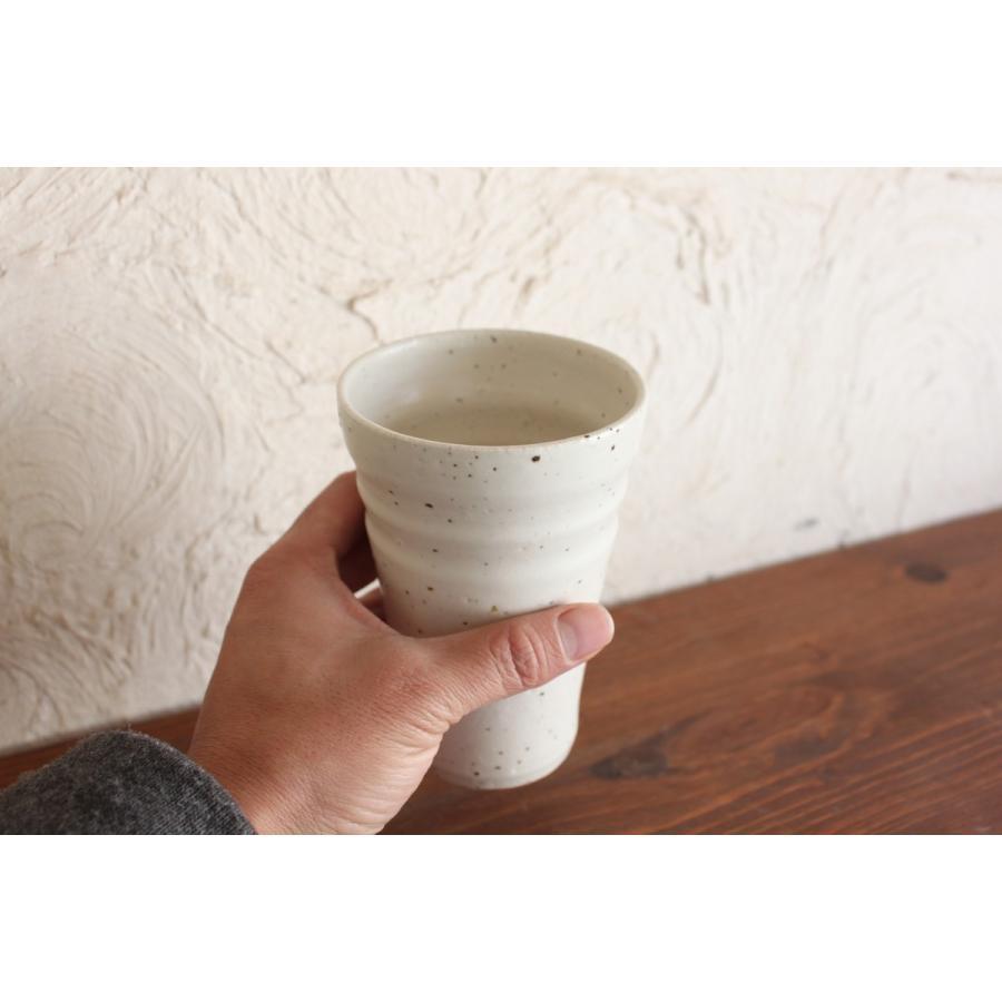 ビールグラス 陶器 誕生日 母の日 父の日 敬老の日 御影雪ビールグラス プレゼント ホワイトデー 還暦  お祝い|kiki-kiki|04