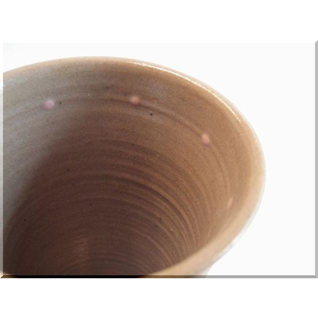 ビールグラス 陶器 誕生日 母の日 父の日 敬老の日 ピンクドットイン プレゼント ホワイトデー 還暦 祝い|kiki-kiki|02