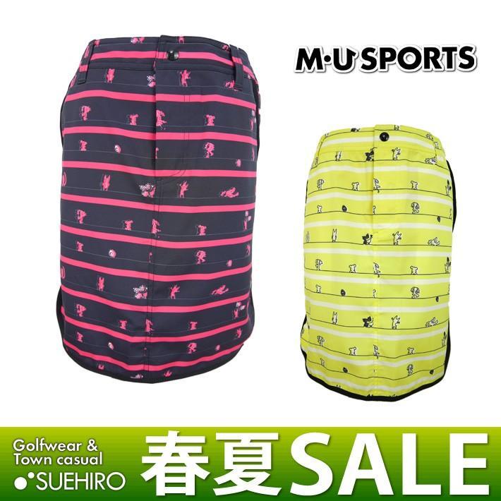 MUスポーツ ゴルフウェア スカート (M/L/LL寸:レディース) 春夏 55%OFF/SALE