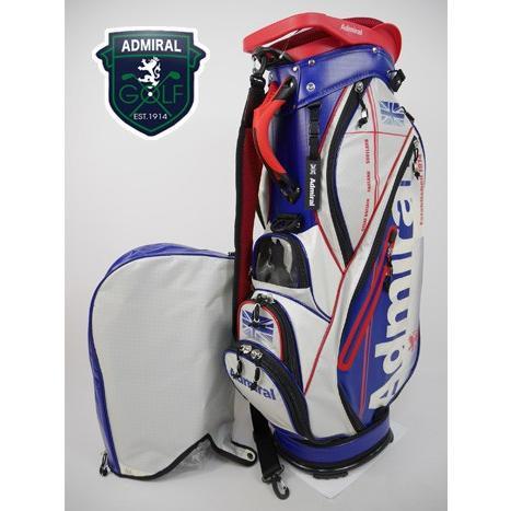 アドミラルゴルフ Admiral GOLF ゴルフ キャディバッグ (9型(46インチ対応・2.7kg):メンズ) 2018新作モデル