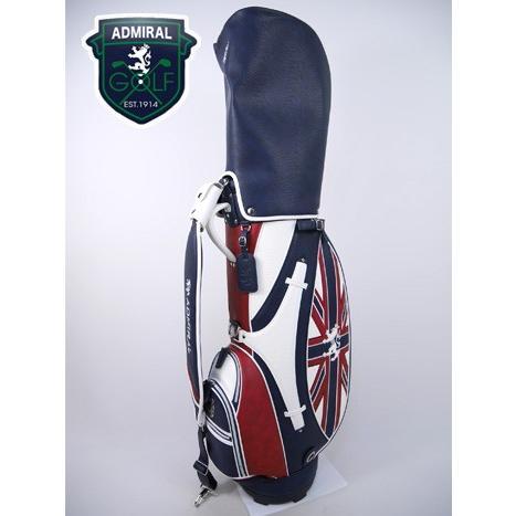 アドミラルゴルフ Admiral GOLF ゴルフ キャディバッグ (8.5型(46インチ対応):メンズ) 新作モデル admg8fc6