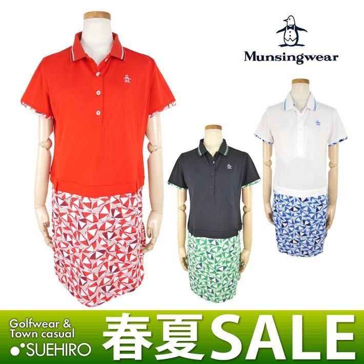 マンシングウェア Munsingwear ゴルフウェア ワンピース (M/L寸:レディース) 春夏 45%OFF/SALE jwlj781w