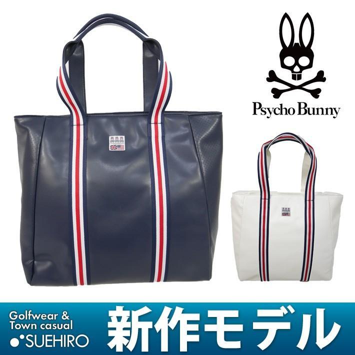 期間限定クーポン配布中 サイコバニー Psycho Bunny GOLF ゴルフ トートバッグ (43×40×19cm:メンズ) 2019新作モデル