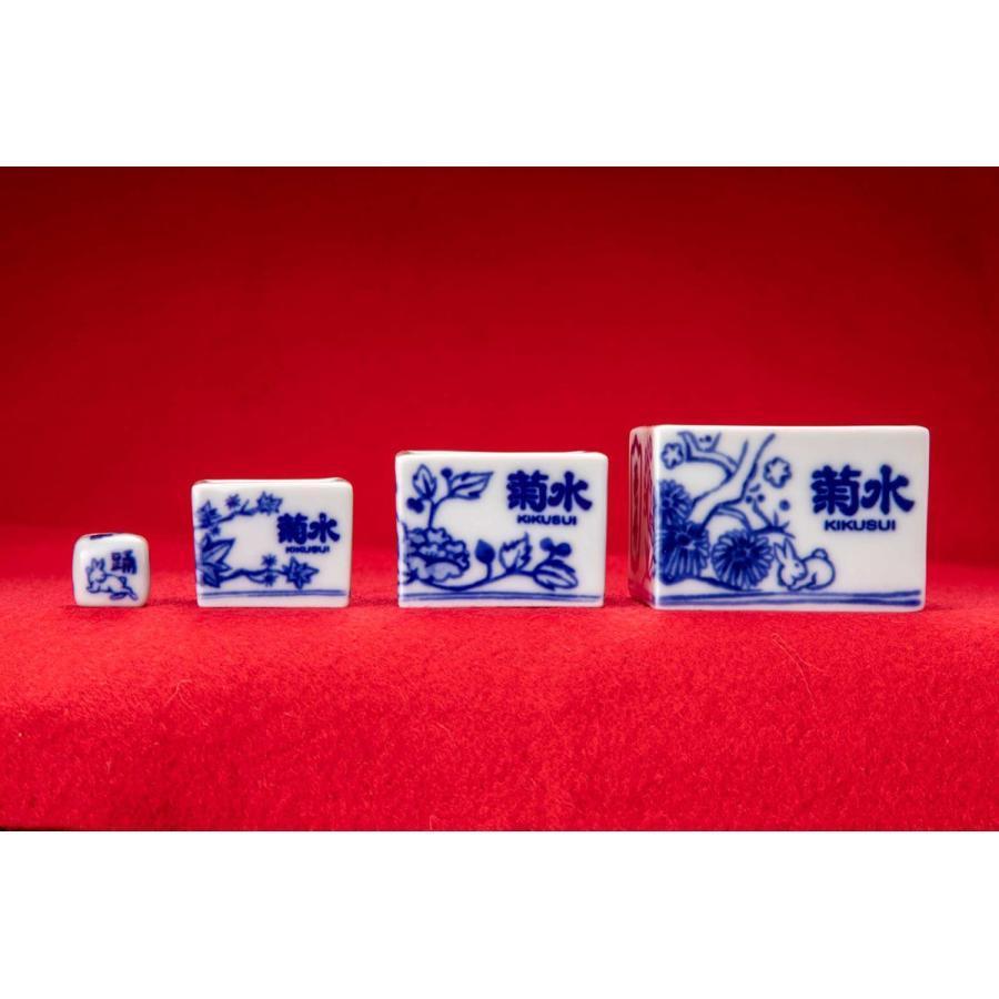菊水オリジナル遊興盃(花鳥図)|kikusui-sake|04