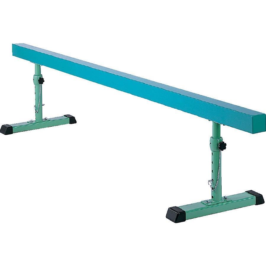 【送料別】平均台 鉄脚調節式 3.6m 【三和体育】S-8509