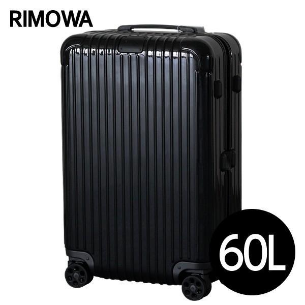リモワ RIMOWA エッセンシャル チェックインM 60L グロスブラック ESSENTIAL Check-In M 832.63.62.4