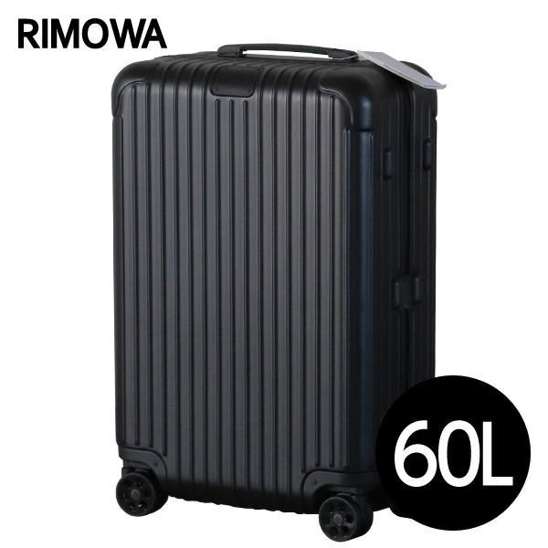 『期間限定ポイント10倍』 リモワ RIMOWA エッセンシャル チェックインM 60L マットブラック ESSENTIAL Check-In M 832.63.63.4