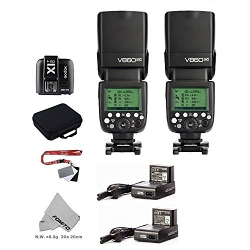 【人気No.1】 Fomito GODOX VING (TTLpioneering カメラフラッシュV860IICキット   Canon (TTLpioneering GODOX Li-ion Camera Flash)  Canon EOSカメラに適用, クリハチ:ce0d521d --- viewmap.org