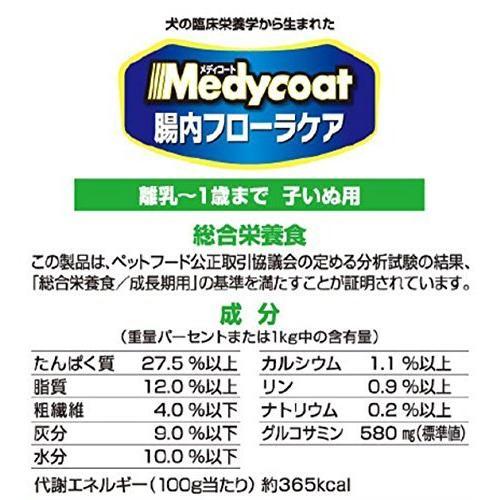 メディコート 腸内フローラケア 離乳1歳まで 子いぬ用 3kg(500g6) kimakai 06