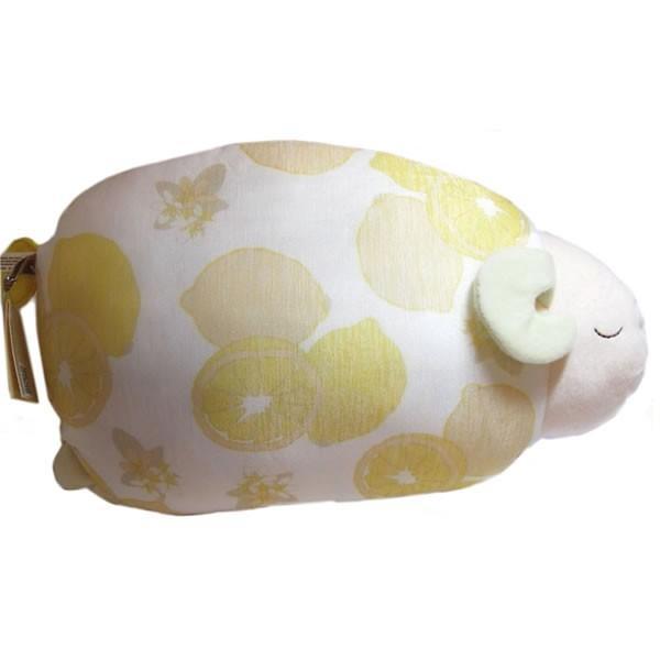 レモンおやすみ羊 涼感お昼寝まくら・ドッグアイピローとメッセージ入浴剤のセット kimochidesu-net 03