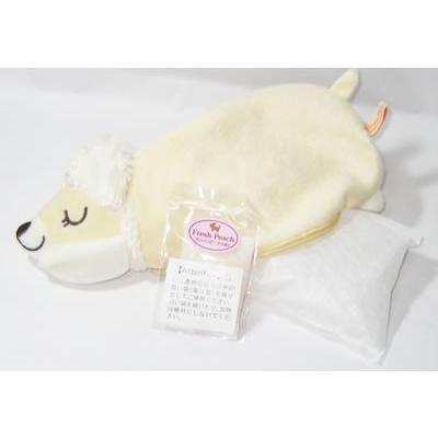 レモンおやすみ羊 涼感お昼寝まくら・ドッグアイピローとメッセージ入浴剤のセット kimochidesu-net 10