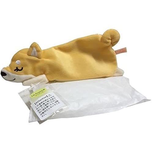 柴犬の「しらいしさん」くつろぎ枕・アイピローとミニタオル(メッセージ付き)のセット|kimochidesu-net|07
