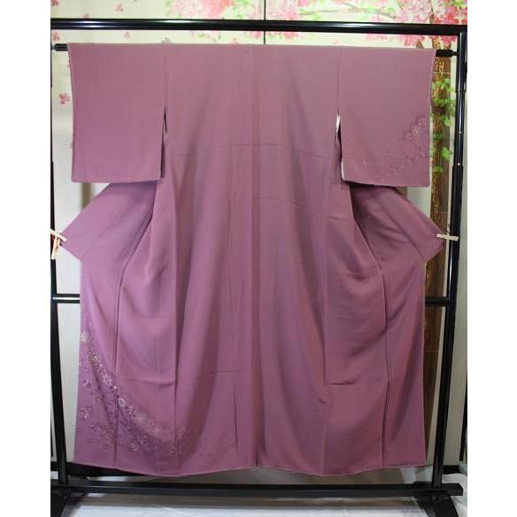 雑誌で紹介された 未使用/ 花変わり刺繍の付下げ, 小海町 79862308