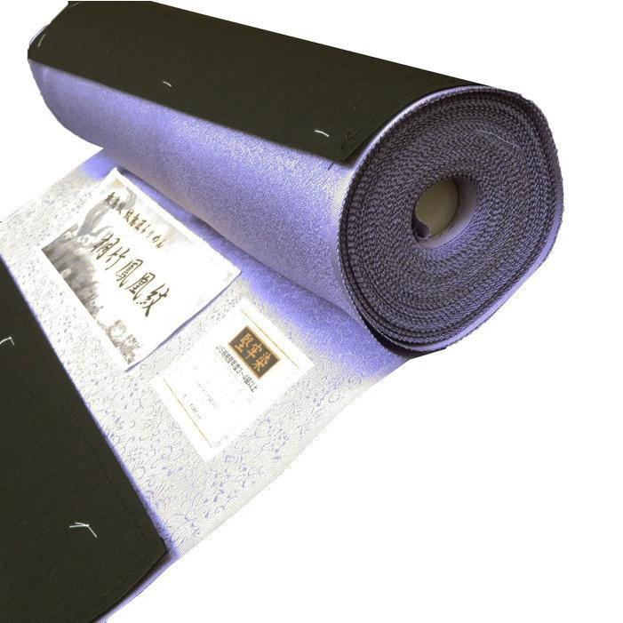 100 %品質保証 反物 色無地 未仕立て 地銀通し 新品 ラメ 刺繍のような 地紋 地模様 正絹 桐竹鳳凰紋 T9-3, オトイネップムラ b7052db8